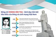 [Infographics] Hoàng Văn Thụ - lãnh đạo tiền bối tiêu biểu của Đảng