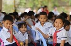 Trường Tiểu học Khmer-Việt Nam Tân Tiến khai giảng năm học mới