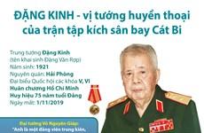 [Infographics] Vĩnh biệt vị tướng huyền thoại Đặng Kinh