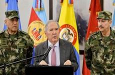 Bộ trưởng Quốc phòng Colombia Guillermo Botero từ chức