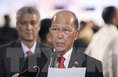 Bộ trưởng Lorenzana muốn dỡ bỏ thiết quân lập tại miền Nam Philippines