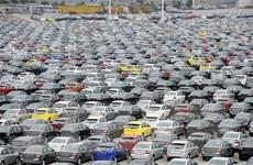 Thị trường ôtô Trung Quốc tiếp tục đà đi xuống năm thứ hai liên tiếp
