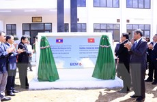 Bàn giao trường Trung học Dakchueng-công trình do BIDV tài trợ