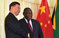 Trung Quốc tăng cường quan hệ chiến lược toàn diện với Nam Phi