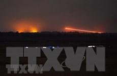 Quân đội Israel đánh chặn 4 vật thể bay phóng từ Syria