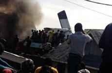 Rơi máy bay chở 19 người ở Cộng hòa Dân chủ Congo