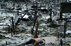 Philippines xác nhận 1.833 người chết vì bão Haiyan