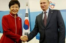 Tổng thống Nga thăm Hàn Quốc tăng hợp tác kinh tế