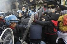Hàng vạn sinh viên Italy biểu tình về ngân sách giáo dục