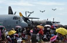 Cộng đồng quốc tế tăng cường cứu trợ Philippines