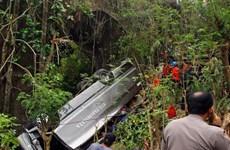 Xe chở du khách Trung Quốc lao xuống vực, 6 người chết