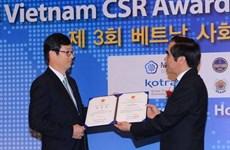Tôn vinh doanh nghiệp Hàn Quốc đầu tư tại Việt Nam