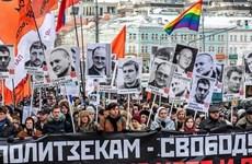 Nga: Hàng nghìn người tuần hành tại trung tâm Moskva