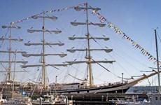 Tàu buồm Pallada của Nga rời Hàn Quốc tới Malaysia