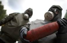 Đức cân nhắc tham gia tiêu hủy vũ khí hóa học Syria