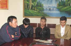 Bắt giữ chín đối tượng phạm tội đánh bạc tại Hà Tĩnh