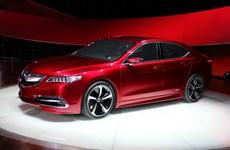 Acura TLX 2015 phiên bản sản xuất tới triển lãm New York