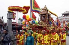 Nam Định chính thức khai mạc Lễ hội Phủ Dày 2014