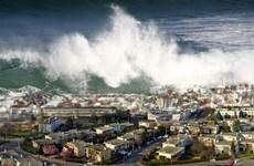 Xuất hiện các đợt sóng thần đầu tiên ở duyên hải Chile