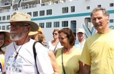 Hơn 1.000 khách nước ngoài đến Huế qua cảng Chân Mây
