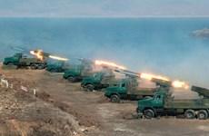 [Infographics] Triều Tiên bắt đầu tập trận bắn đạn thật