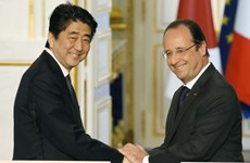 Nhật Bản, Pháp khởi động đàm phán về hợp tác quốc phòng