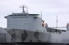 Chuyến tàu chở số vũ khí hóa học cuối cùng của Syria rời cảng
