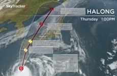 Bão Halong đổ bộ vào Nhật Bản, hàng trăm chuyến bay bị hủy