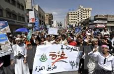 Yemen: Hàng chục nghìn người tuần hành phản đối chính phủ