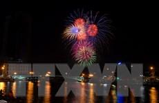 [Photo] TP.HCM tưng bừng bắn pháo hoa chào mừng Quốc khánh