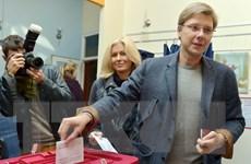 Tổng tuyển cử tại Latvia: Liên minh cầm quyền đang áp đảo