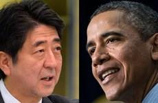 Lãnh đạo Mỹ-Nhật điện đàm về dịch Ebola và đàm phán TPP