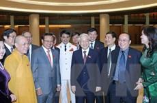 [Photo] Khai mạc trọng thể Kỳ họp lần thứ tám, Quốc hội Khóa XIII