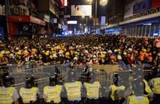 Cảnh sát Hong Kong bắt giữ hai đối tượng tấn công phóng viên