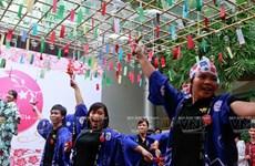 [Photo] Lễ hội chuông gió - nét văn hóa độc đáo Xứ hoa Anh đào