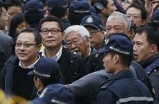 [Video] Các thủ lĩnh biểu tình tại Hong Kong đã ra đầu thú