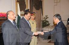 Đại sứ Việt Nam trình thư ủy nhiệm lên Tổng thống Pakistan