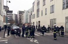 [Photo] Hiện trường vụ xả súng tại tuần báo trào phúng của Pháp