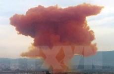 Nổ nhà máy hóa chất Tây Ban Nha gây ô nhiễm nghiêm trọng