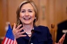 Đức hoan nghênh bà Hillary Clinton ra ứng cử Tổng thống Mỹ