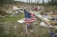 Hàng loạt trận lốc xoáy tàn phá nhiều bang miền Trung nước Mỹ