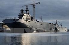 Pháp đề xuất đền Nga 785 triệu euro để hủy vụ tàu Mistral
