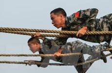 Quân đội Trung Quốc tập trận quy mô lớn liên khu vực