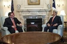 Ngoại trưởng Mỹ và Cuba có cuộc tiếp đón và hội đàm lịch sử