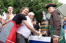 Bia chai Hà Nội được giới thiệu tại liên hoan bia quốc tế Berlin 19