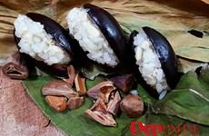 Xôi hạt trám và xôi trám cốt dừa: Gói trọn hương vị mùa Thu