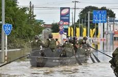 Nhật Bản: Hơn 100 người vẫn mắc kẹt do lũ lụt ở thành phố Joso