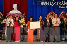 Lễ công bố Quyết định thành lập Trường Đại học Khánh Hòa