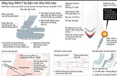 [Infographics] Tái hiện vụ máy bay MH17 bị tên lửa bắn hạ