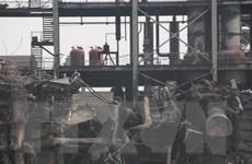 Thêm một vụ nổ nhà máy hóa chất tại Trung Quốc, 9 người mất tích
